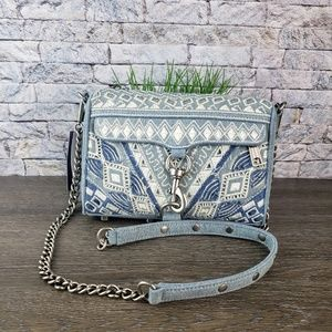 Rebecca Minkoff MAC Mini Denim Crossbody Bag $175